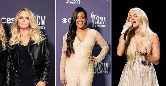 Must-See Fashions From The 2021 ACM Awards: Miranda Lambert, Mickey Guyton, Carrie Underwood, More