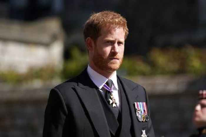 Three royals who 'snubbed' Prince Harry at Duke of Edinburgh funeral
