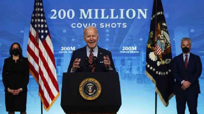 Joe Biden Celebrates As US Achieves 200 Million COVID-19 Vaccine Doses