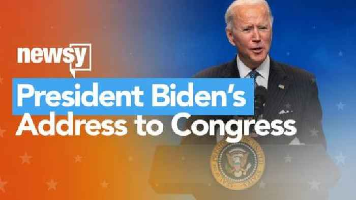 How To Watch President Biden's Address To Congress On Newsy