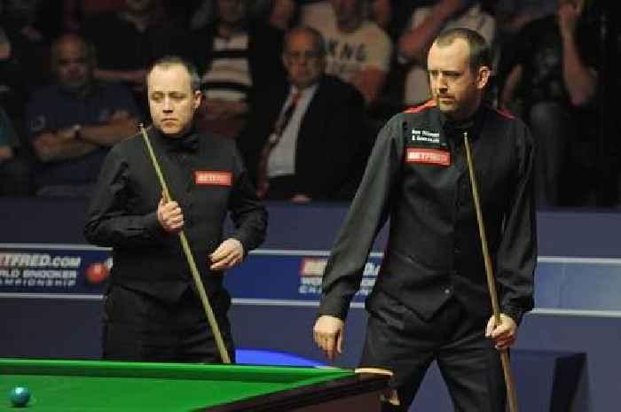 John Higgins labels Mark Williams toughest Crucible opponent