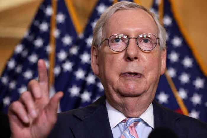 McConnell Accuses Biden of Breaking His Commitment To Unify the Country