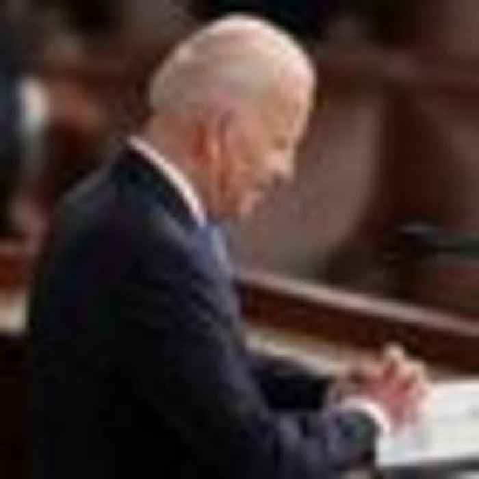 Biden says 'America is on the move again' - but unity or even reconciliation seems far off