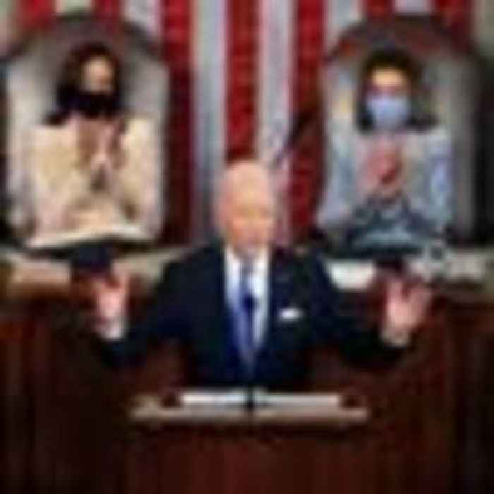 Biden vows 'America is on the move' as he promises to 'turn peril into possibility'