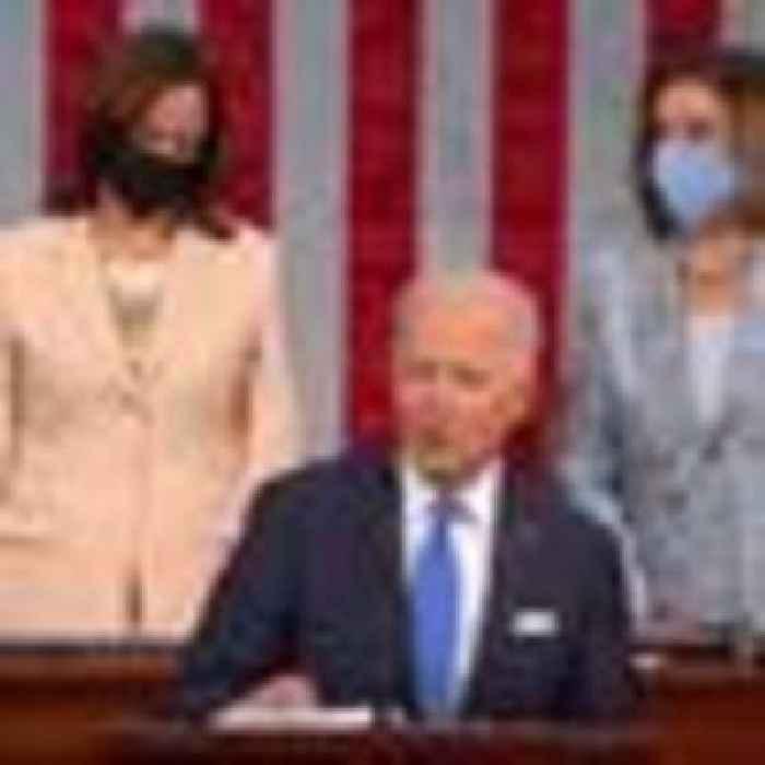 Watch President Biden's  first joint address to Congress