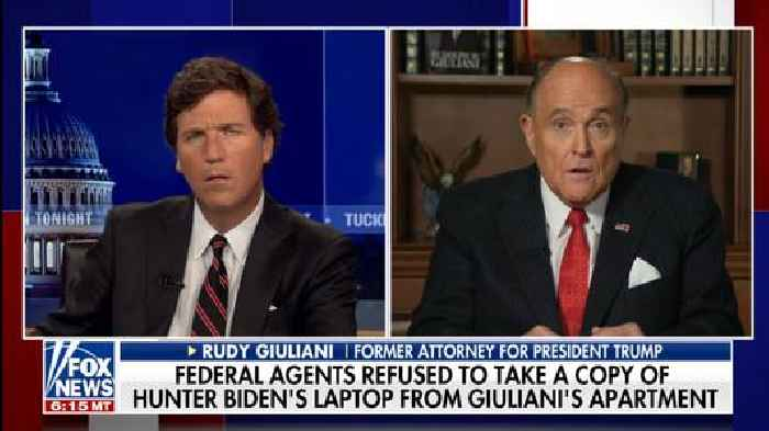 Giuliani Brags to Tucker Carlson He 'Could Have Destroyed the Evidence Years Ago' (Video)