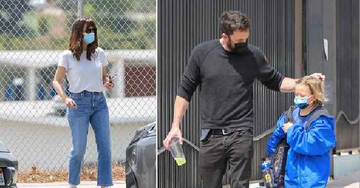 Jennifer Garner & Ben Affleck Spend Afternoon With Son Samuel Days After Actor's Reunion With Ex-Fiancée Jennifer Lopez — Photos
