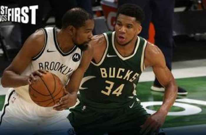 Chris Broussard: With all due respect to the Bucks, the Nets don't fear them | FIRST THINGS FIRST