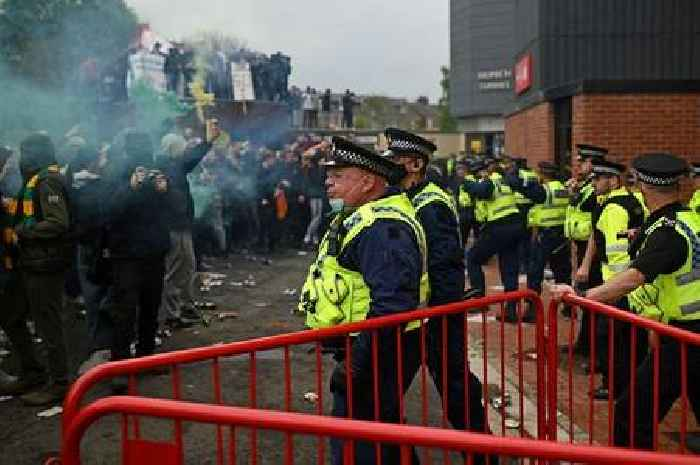 Man Utd review security over fears of fresh protest chaos when Liverpool return