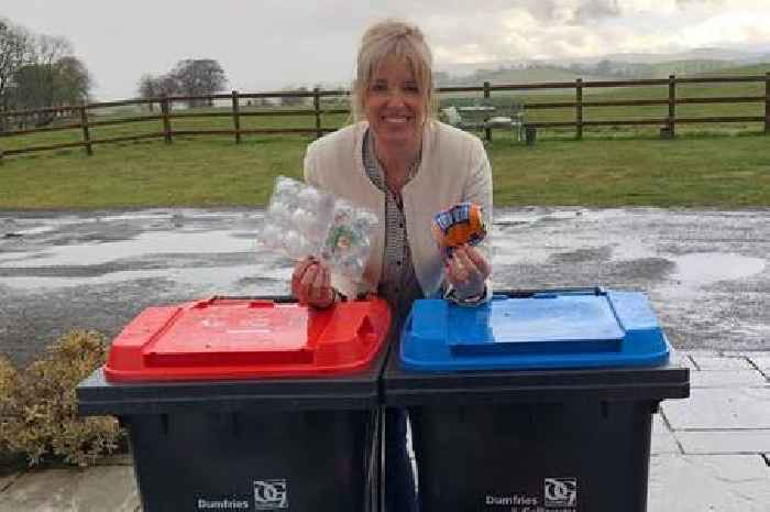 Councillor urging residents to get behind the council's new recycling service