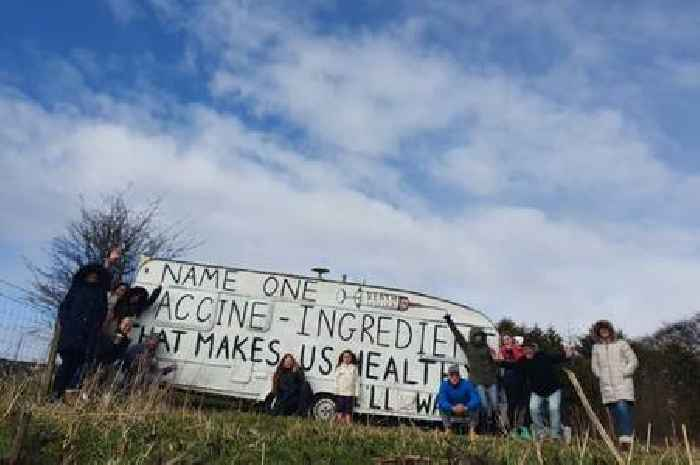 Election candidate's anti-Covid caravan on A77 near Ayr torched to the ground