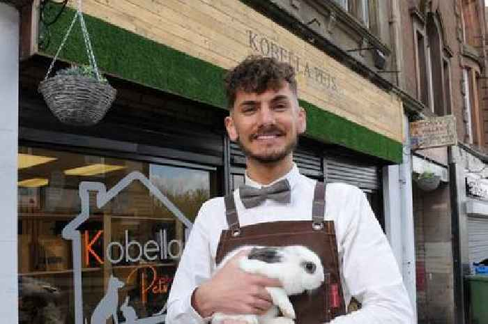 New Wishaw pet shop hopes to prove the high street is still thriving