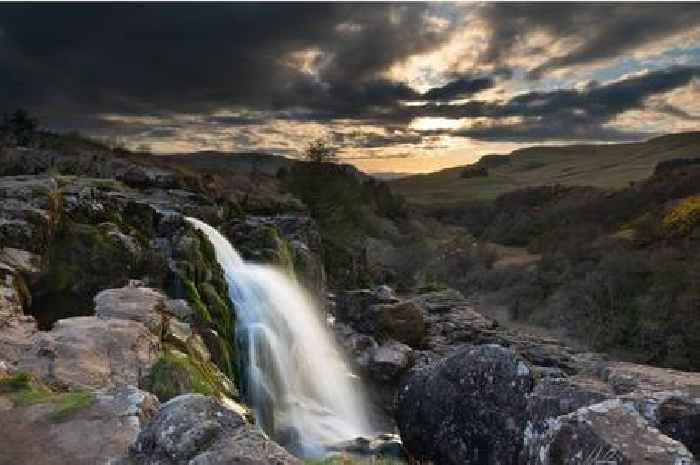 Picture Scotland: Pic of cascading waterfall near Fintry has wow factor