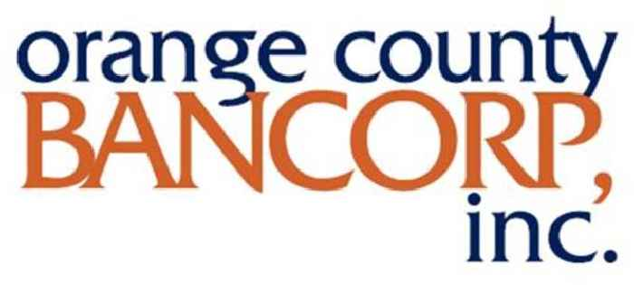 Orange County Bancorp, Inc. Announces Record First Quarter 2021 Results
