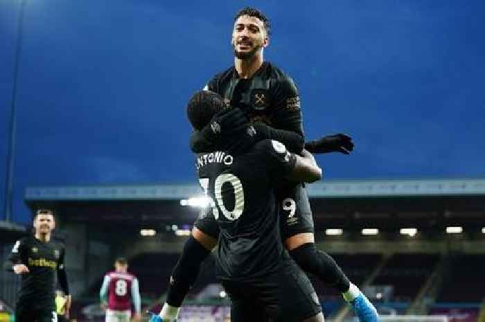 West Ham player ratings as the Hammers win 2-1 against Burnley