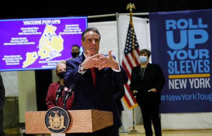 New York Gov. Andrew Cuomo Cautions Unvaccinated People Could Kill the Elderly