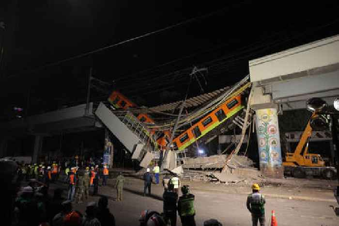 Mexico City Metro Overpass Collapses Kills At Least 23