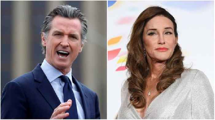 Why Gavin Newsom's Team Is Glad Caitlyn Jenner Is Running for Governor