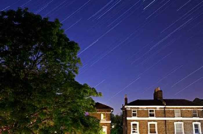 Meteor shower weather forecast from Met Office