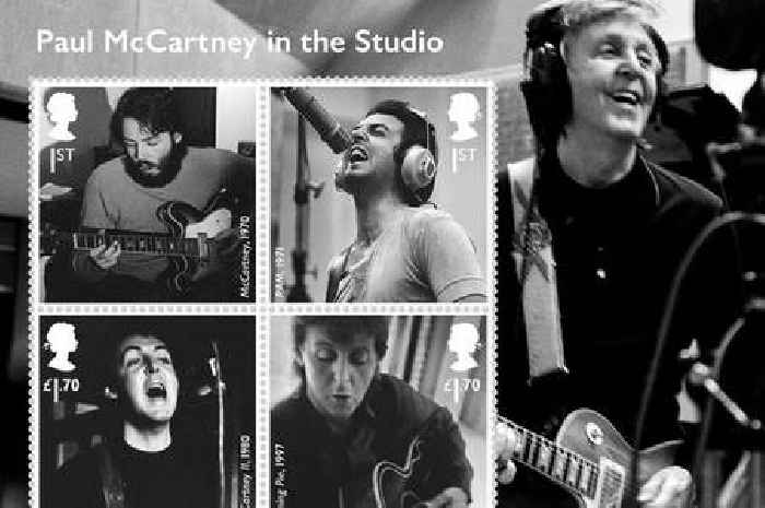Royal Mail unveils set of 12 special stamps to honour Sir Paul McCartney