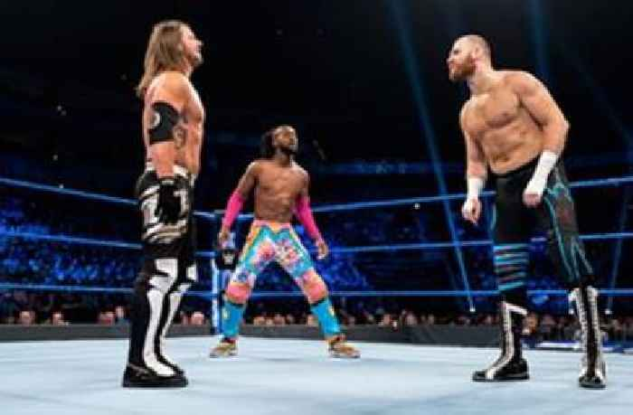 Kofi Kingston vs. AJ Styles vs. Sami Zayn – WWE Title Triple Threat Match: SmackDown, May 7, 2019 (Full Match)