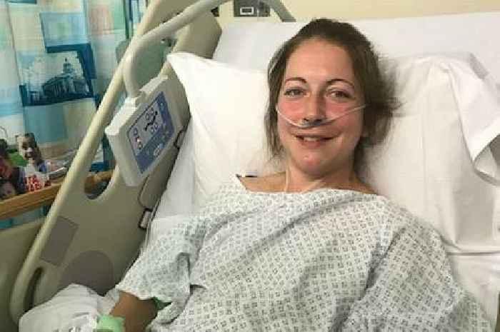 Mum was told she had cancer just after running half marathon