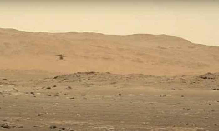 Perseverance Rover Hears Ingenuity's Fourth Flight on Mars