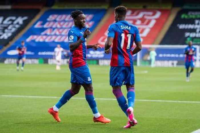 Crystal Palace confirmed team as Schlupp and Eze start in midfield, Zaha in