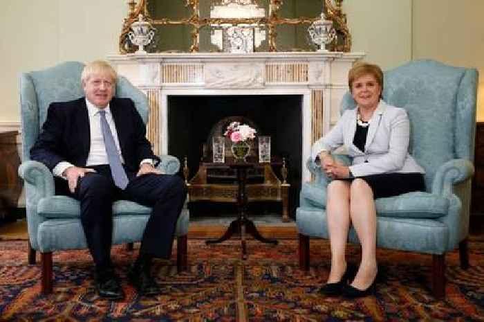 Nicola Sturgeon tells Boris Johnson independence referendum is