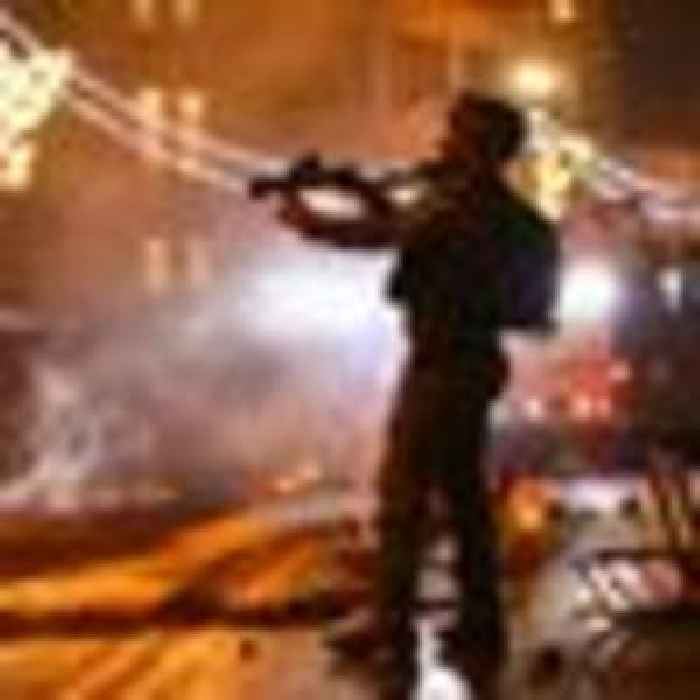 More than 90 Palestinians injured after another night of clashes in Jerusalem