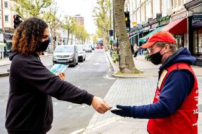More Big Issue vendors using contactless  technology to sell the magazine