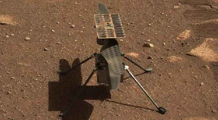 Mars Helicopter Completes First One-Way Flight
