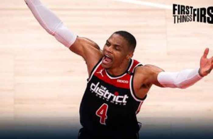 Chris Broussard talks Russell Westbrook's legacy after he sets career triple-double record | FIRST THINGS FIRST