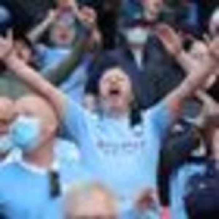 Manchester City crowned Premier League champions after Manchester United lose to Leicester City