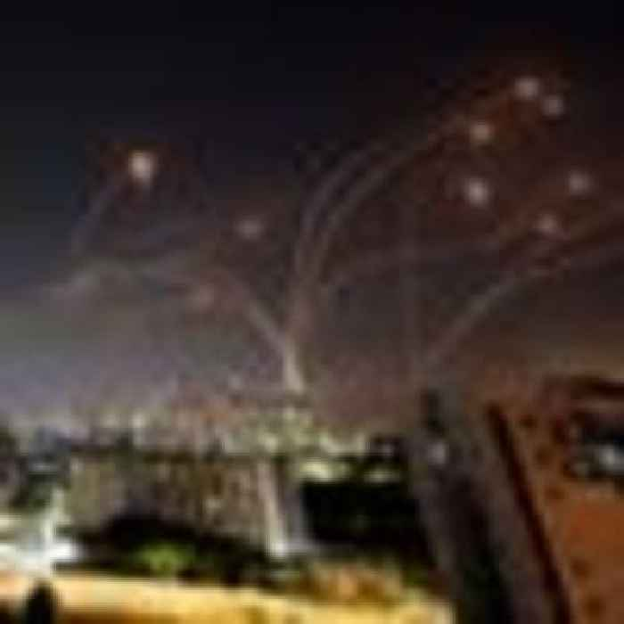 Israel launches airstrikes on 'Hamas military targets' as it responds to rocket attacks