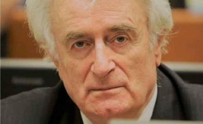 Former Bosnian Serb :eader Karadzic To Serve Remainder Of Life Sentence In British Prison