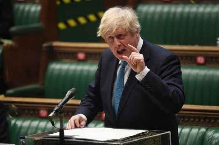Boris Johnson issued with court judgement over unpaid £535 debt