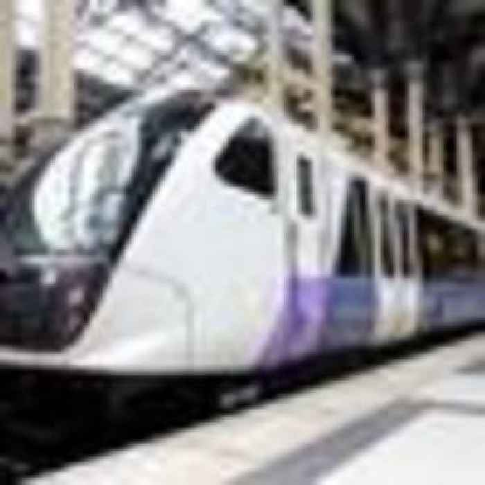 'Significant moment': London's Crossrail runs test trains as it targets 2022 opening