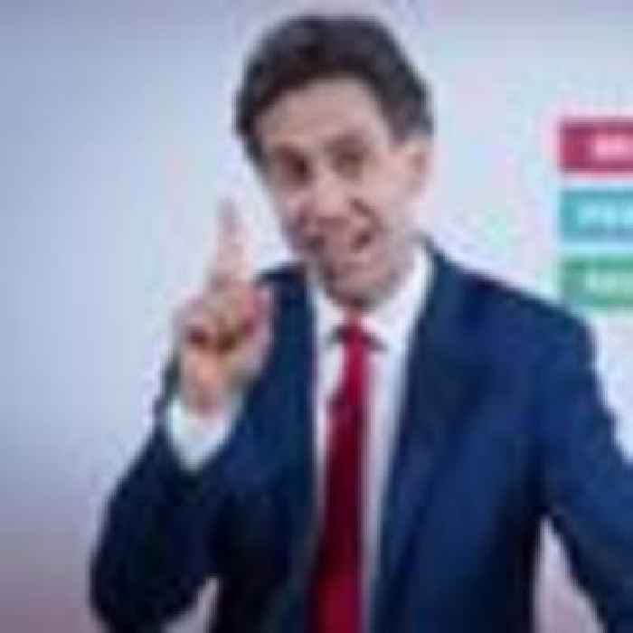 Miliband: Being opposition leader 'very unforgiving' but Starmer is 'up to it'
