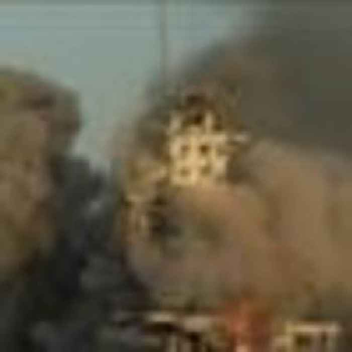 Senior Hamas military official killed in airstrike as building collapses in Gaza