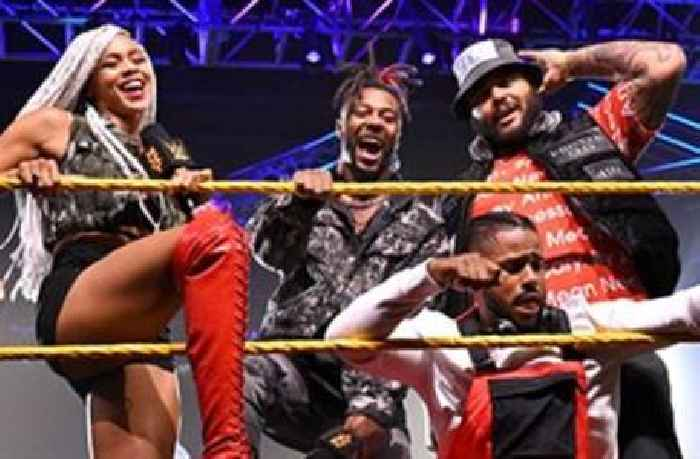 """Isaiah """"Swerve"""" Scott introduces Hit Row: WWE NXT, May 11, 2021"""