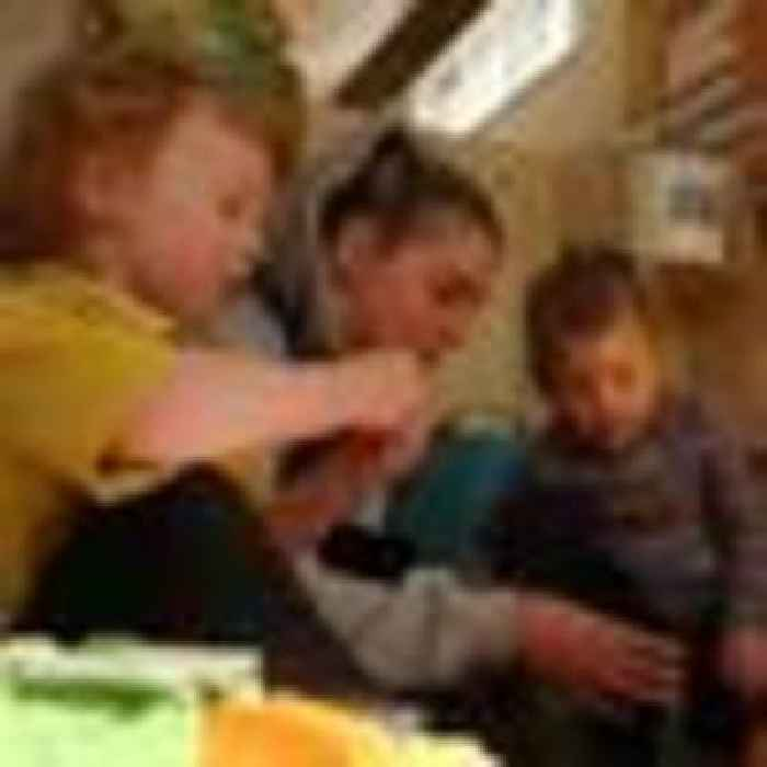 Fears of a 'partially lost generation' as gap widens between pre-schoolers