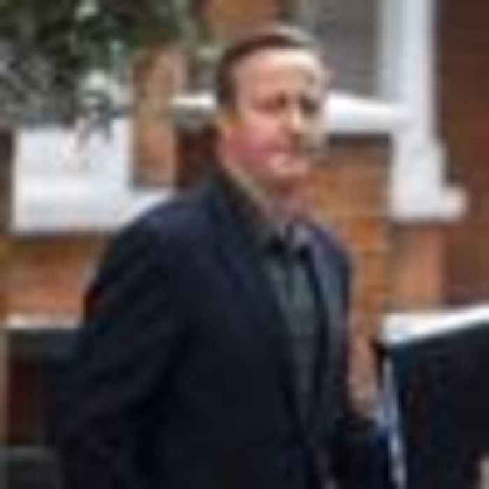 Heir to Tony Blair? Clearly, you wish, David Cameron