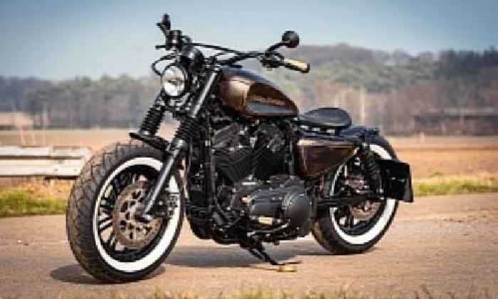 Harley-Davidson Rusty Rose Plays the Bobber Card, Drops the Chrome