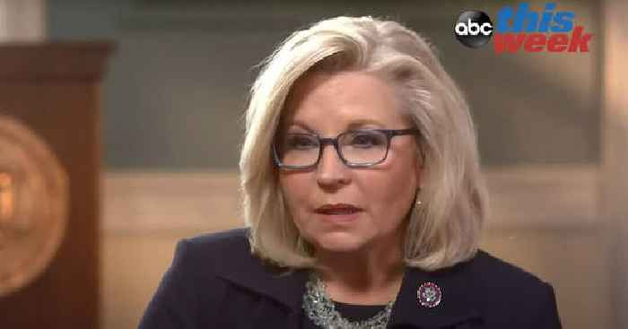 Liz Cheney Says She Regrets Voting for Trump in 2020