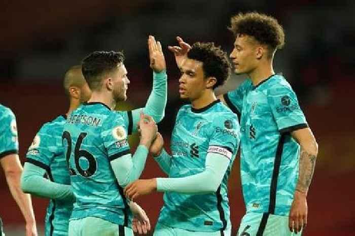 Robertson's inspiring Liverpool demand overheard during Man Utd victory