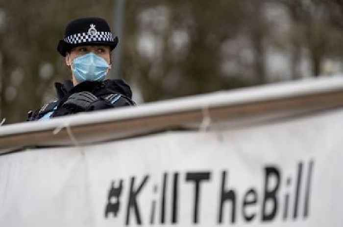 Updates as 2 protests take place across city centre