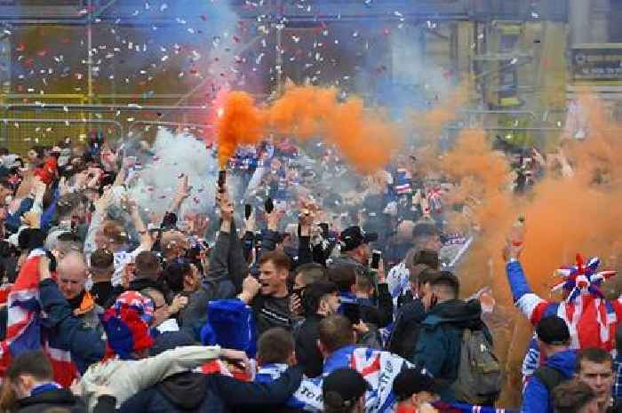 Police turned down Gers fans procession request as top cop slams Glasgow scenes