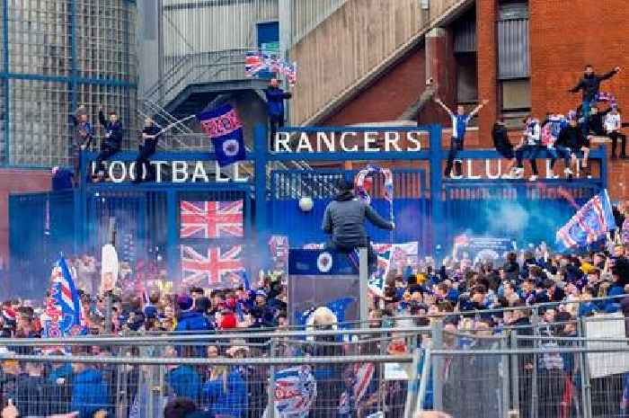 Rangers title party - LIVE updates from Ibrox celebrations