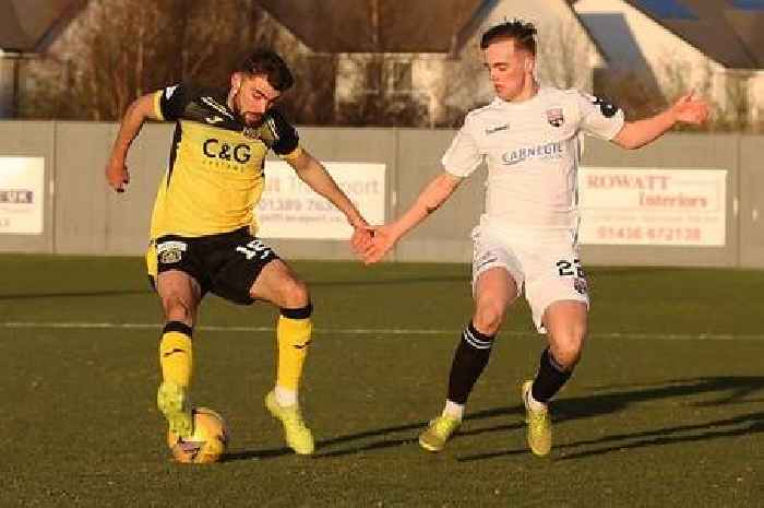 St Mirren kid Nick McAllister expected to leave when Dumbarton loan ends